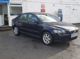 Volvo S40/V50 SERIES, 2005 (55) Black Saloon, Manual Petrol, 55,000 miles