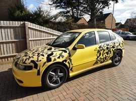 Seat Leon Cupra R (52) Yellow Hatchback, Manual Petrol, 106,000 miles