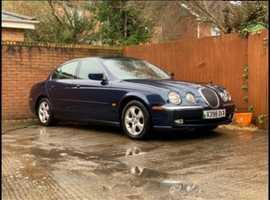 Jaguar S-TYPE, 2000 (X) Blue Saloon, Automatic Petrol, 69,382 miles