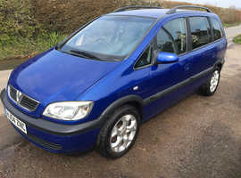Breaking zafira dti 7 seater