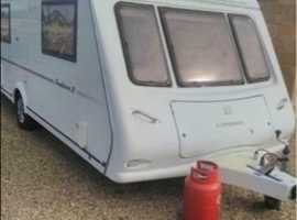 Compass pentara 2006 touring caravan 4 berth