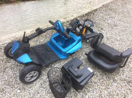 2015 Drive DeVilbiss mobility scooter, Suspension. Car boot