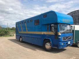 18 ton Volvo Horse Box