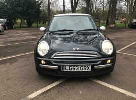Mini MINI, 2003 (53) black hatchback, Manual Petrol, 65,000 miles
