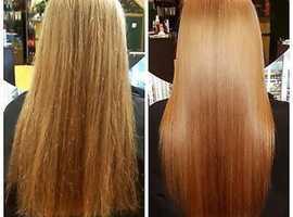 Silky Smooth Hair Straightening