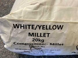 20kg Yellow/White Millet
