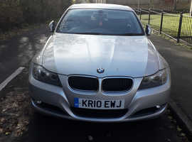 BMW 3 Series, 2010 (10) Silver Saloon, Manual Diesel, 142,346 miles