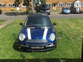 Mini MINI, 2002 (02) Blue Hatchback, Manual Petrol, 142,000 miles