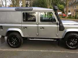 Land Rover DEFENDER 110, 2012 XS Utility (62) Silver 4x4, Manual Diesel, 47,000 miles