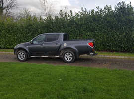 Mitsubishi L200, 2013 (13) Grey 4x4, Manual Diesel, 123,000 miles