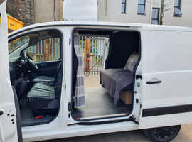 Stealth Camper/Surf Van with Full size inflatabe awning and rock n roll style bed