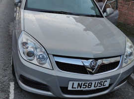 Vauxhall Vectra, 2008 (58) Beige Hatchback, Manual Petrol, 56,843 miles LOW MILEAGE NEW CAM BELT + REVERSE SENSORS