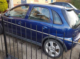 Vauxhall Corsa, 2005 (05) Blue Hatchback, Manual Petrol, 97,000 miles