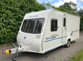 Bailey Ranger GT60 460/4 4 berth 2009 Caravan with Fixed Bed and Motor Movers