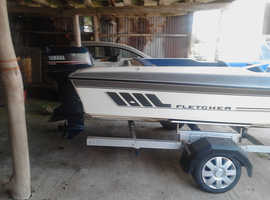 Fletcher bravo speedboat