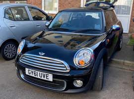 MINI, 2011 (61) Black Hatchback, 3 door, 1.6 Diesel, 6 speed manual,  55, 750miles only, Free road tax model