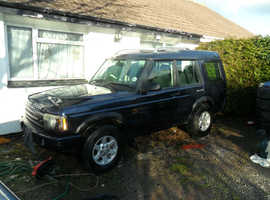 Land Rover Discovery, 2003 (03) Blue Estate, Manual Diesel, 158,000 miles