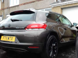 Volkswagen Scirocco, 2011 (11) brown coupe, Manual Diesel, 107,000 miles