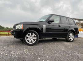 Land Rover Range Rover, 2006 (56) Black Estate, Automatic Petrol, 124,549 miles