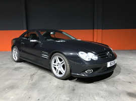 2008 MERCEDES SL55 AMG  VERY LOW MILES IMMACULATE CONDITION INSIDE/OUT OBSIDIAN BLACK/BLACK LEATHER 12 MONTHS MOT INCLUDED