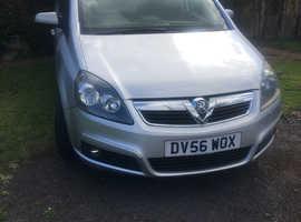 Vauxhall Zafira, 2006 (56) silver mpv, Automatic Diesel, 105,000 miles