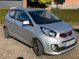 Kia Picanto, 2013 (63) Silver, Low Mileage, Zero Tax Bracket, 1 month KIA warranty, Manual Petrol, 39k miles