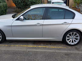 BMW 3 Series, 2009 (59) Silver Saloon, Manual Petrol, 49,600 miles