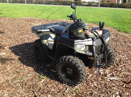Road legal Polaris 4x4 400 HO with winch