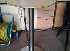 Breakfast Bistro Table, Round, 60 cm Diameter x 73 cm High