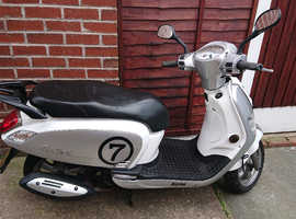 Sym fiddle 3 50cc scooter moped