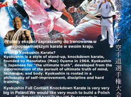 FULL CONTACT KNOCKDOWN KARATE...Polish Ex Pats, this is for YOU