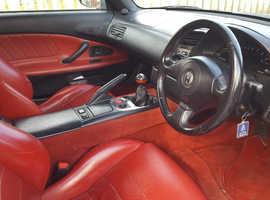 Honda S2000, 2000 (W) Silver Convertible, Manual Petrol, 141,000 miles