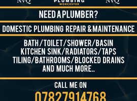 AJH Plumbing Worcester maintenance & repair specialist