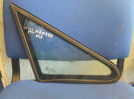 2006 SEAT ALHUMBRA FRONT RIGHT DRIVER OFF SIDE OSF QUARTER GLASS WINDOW