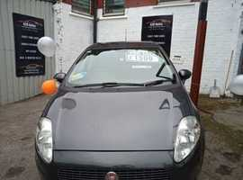 Fiat Grande Punto, 2008 (08) Grey Hatchback, Manual Petrol, 96,000 miles