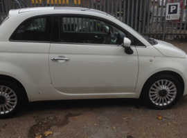 Fiat 500, 2011 (11) White Hatchback, Manual Petrol, 29,000 miles