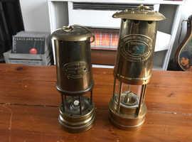 2x miners lamp