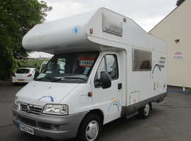 HYMER SWING 544 4/5 BERTH 64000Miles