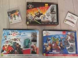 PS3 Disney Infinity and Lego Dimensions Interactive Games and Characters.