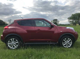 Nissan Juke, 2011 (11) Red Hatchback, Manual Petrol, 80,000 miles