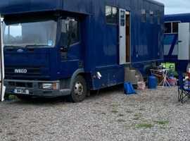7.5 ton horsebox
