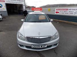 Mercedes C CLASS, 2009 (09) Silver Estate, Automatic Diesel, 104,556 miles
