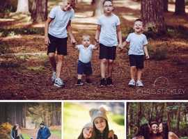 **HALF PRICE** Family Portrait Session **FREE PRINT**