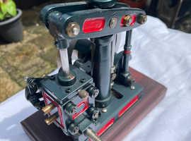 Semi Corliss Rocking Cylinder  Beam Engine