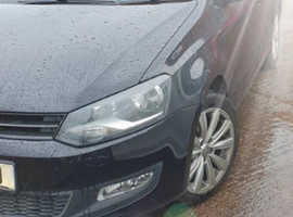 Volkswagen Polo, 2012 (61) Black Hatchback, Manual Diesel, 60,000 miles