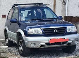 Suzuki Grand Vitara, 2003 (53) Blue Estate, Manual Diesel, 78 k miles
