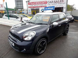Mini MINI COUNTRYMAN, 2011 (11) Blue Hatchback, Manual Petrol, 58,634 miles