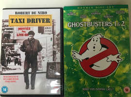 Ghostbusters 1&2 and Taxi Driver
