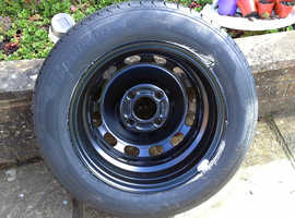 Ford fiesta tyre and wheel never been used from new