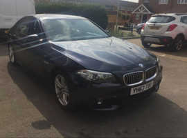 BMW 5 Series, 2013 (63) Blue Saloon, Automatic Diesel, 51,890 miles